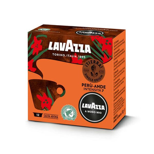 Lavazza Tierra Peru-Ande Coffee Capsule Set Of 12