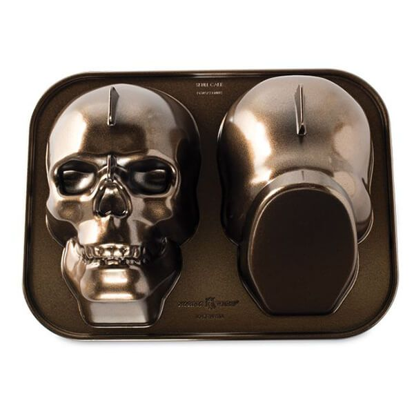 Nordic Ware Haunted Skull Cake Pan