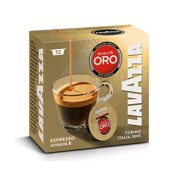 Lavazza Qualita Oro Coffee Capsule Box of 10
