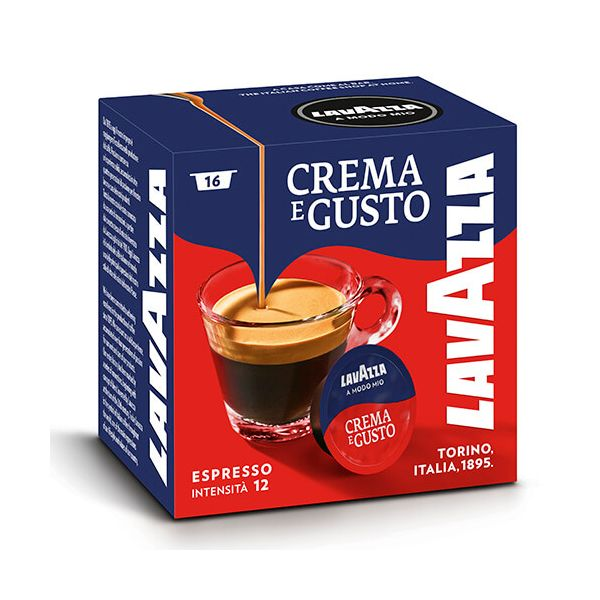 Lavazza Crema Gusto Coffee Capsule Box of 16