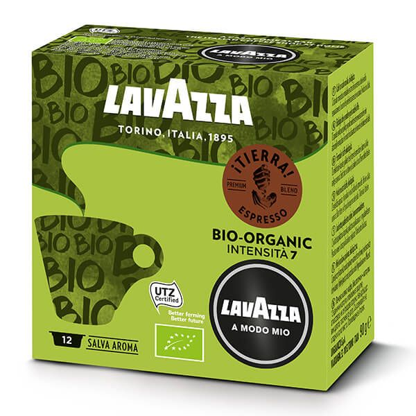 Lavazza Tierra Organic Bio Coffee Capsule Set Of 12