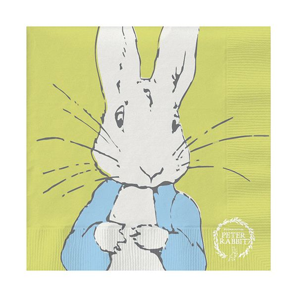 Peter Rabbit Contemporary Line Art Peter Napkins