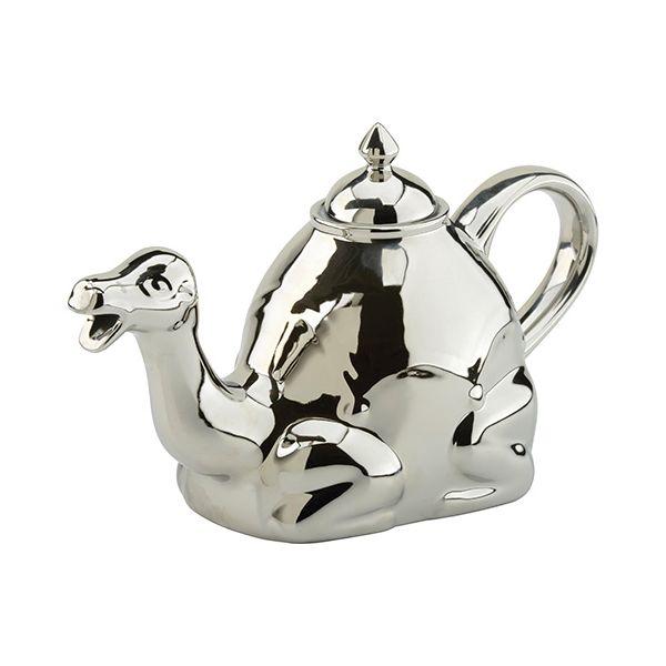 BIA Camel Teapot Platinum