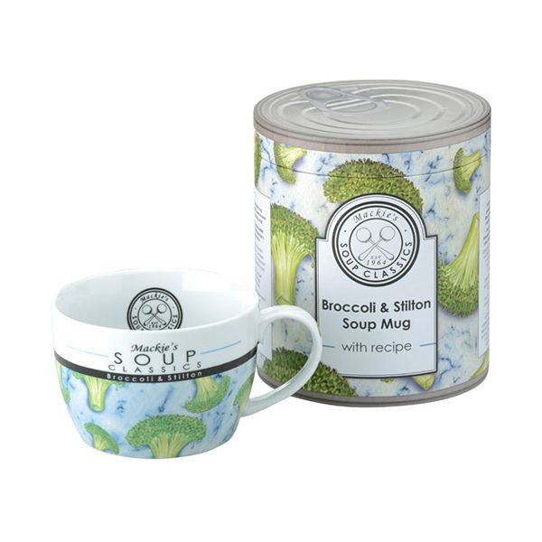 Clare Mackie Broccoli and Stilton Soup Mug