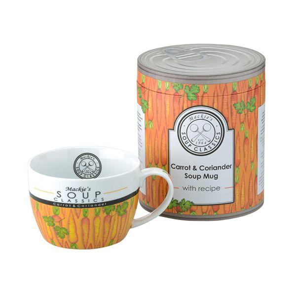 Clare Mackie Carrot and Coriander Soup Mug