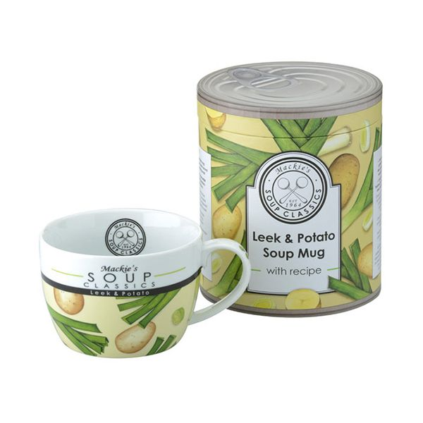 Clare Mackie Leek and Potato Soup Mug