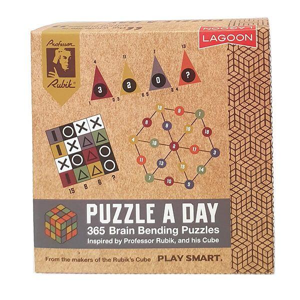 Rubik Puzzle A Day Deskblock