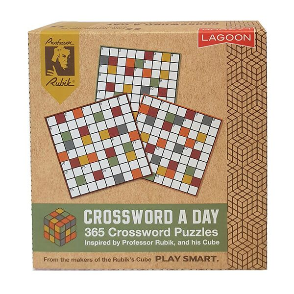 Rubik Crossword A Day Deskblock