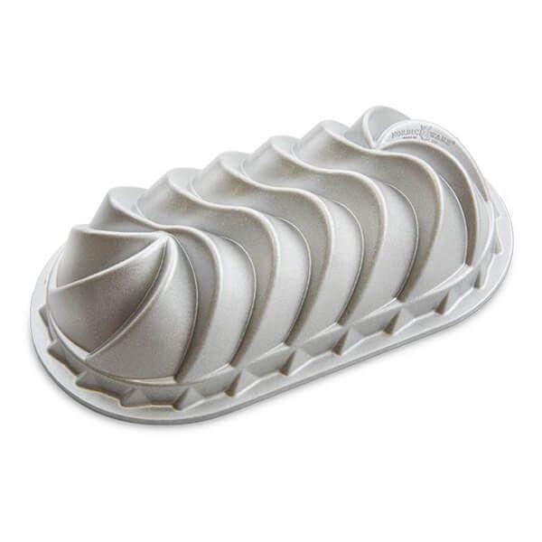 Nordic Ware Heritage Loaf Pan Silver