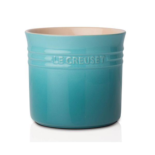 Le Creuset Teal Stoneware Large Utensil Jar