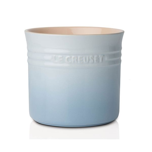 Le Creuset Coastal Blue Stoneware Large Utensil Jar