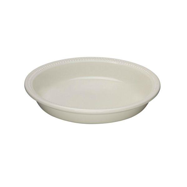 Le Creuset Almond Stoneware 24cm Round Pie Dish