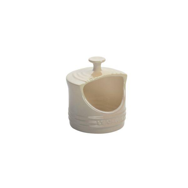 Le Creuset Almond Stoneware Salt Pig