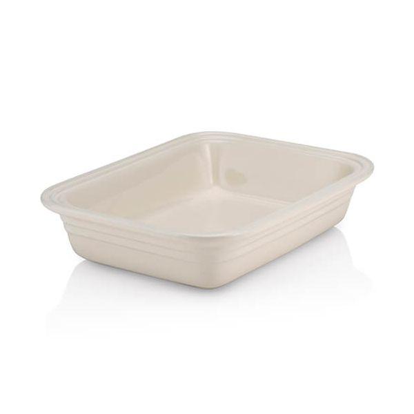 Le Creuset Almond Stoneware 29cm Rectangular Deep Dish