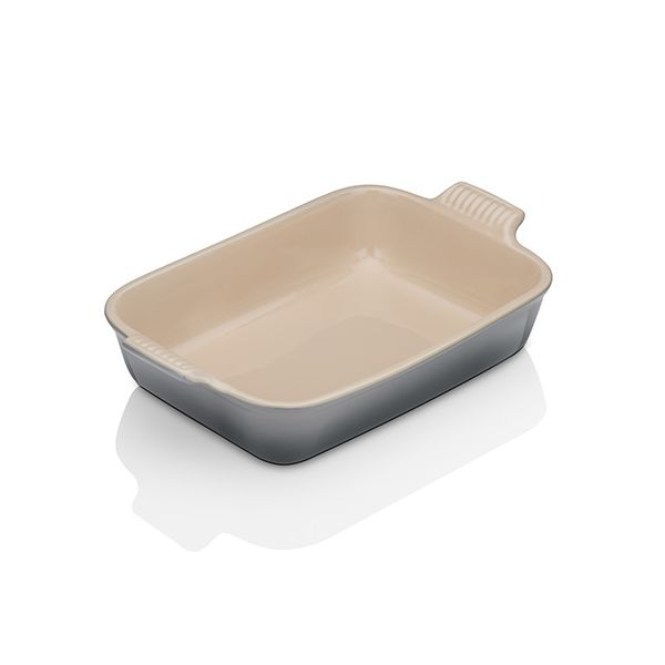 Le Creuset Flint Stoneware 26cm Deep Rectangular Dish