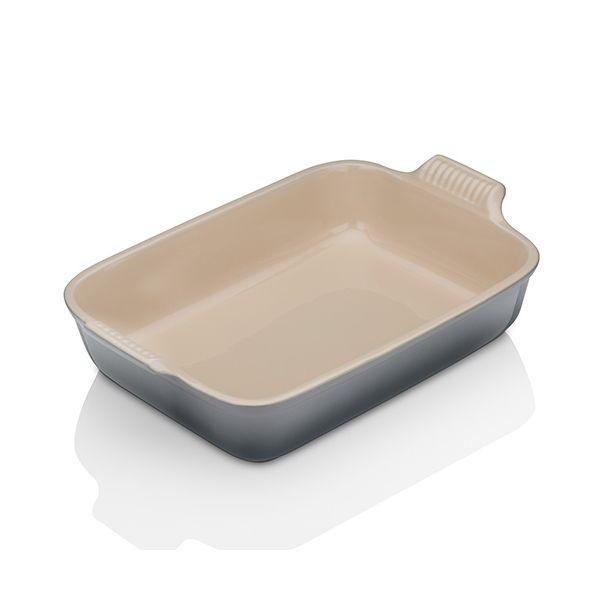 Le Creuset Flint Stoneware 32cm Deep Rectangular Dish