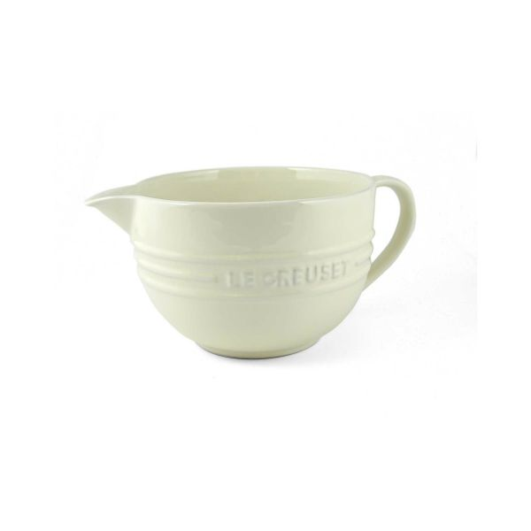 Le Creuset Almond Stoneware Mixing Jug