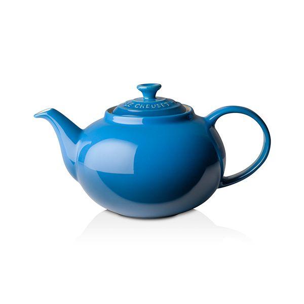 Le Creuset Marseille Blue Stoneware Classic Teapot