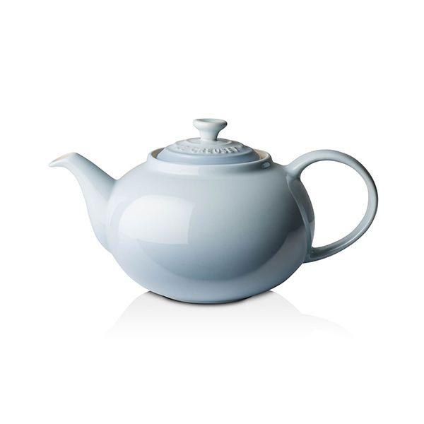Le Creuset Coastal Blue Stoneware Classic Teapot
