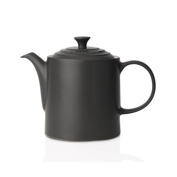 Le Creuset Black Stoneware Grand Teapot