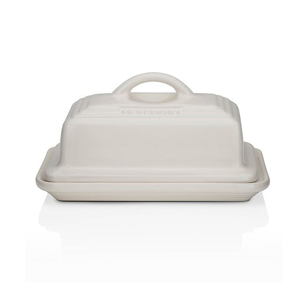 Le Creuset Almond Stoneware Butter Dish