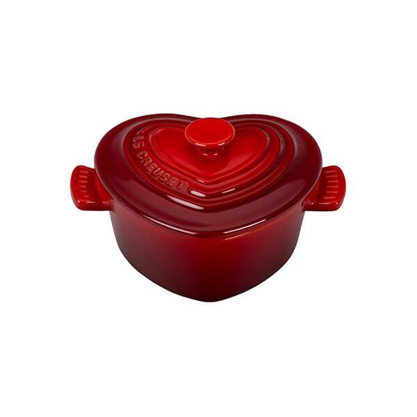 Le Creuset Cerise Stoneware Mini Cocotte D'Amour