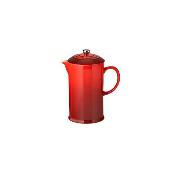 Le Creuset Cerise Stoneware Coffee Pot & Press