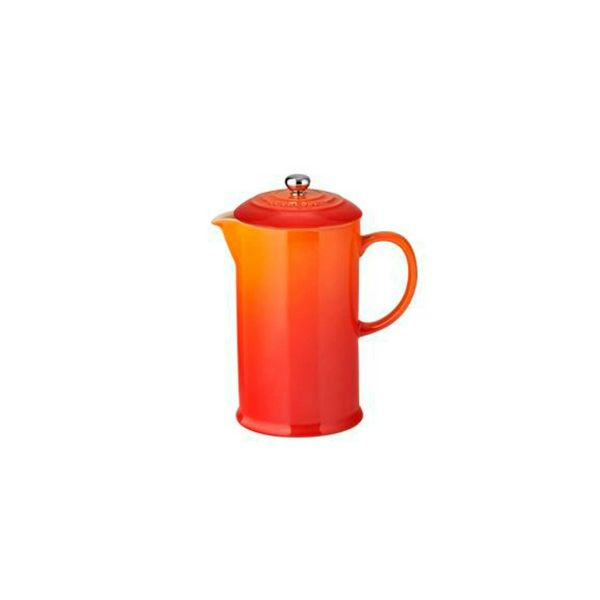 Le Creuset Volcanic Stoneware Coffee Pot & Press