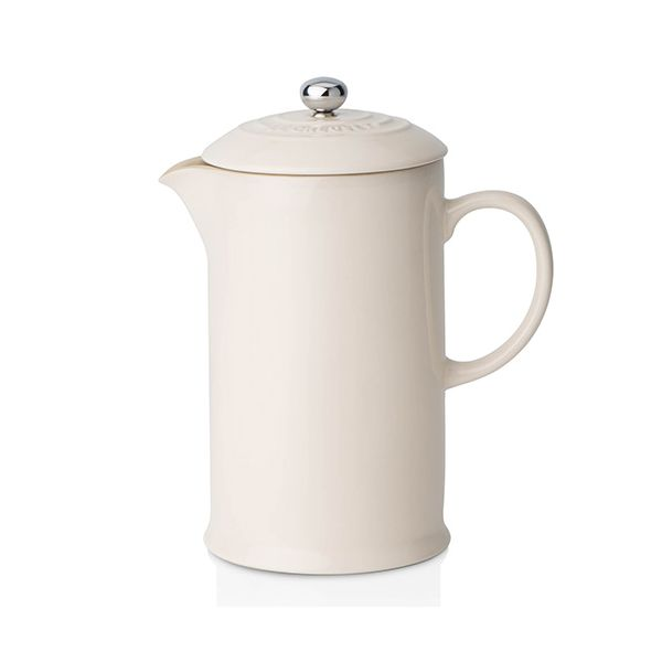 Le Creuset Almond Stoneware Coffee Pot & Press