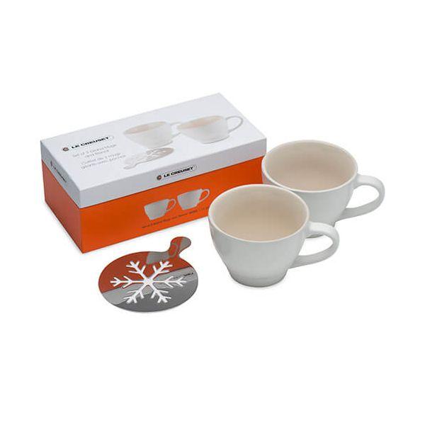 Le Creuset Cotton Stoneware Grand Mug Set Of Two