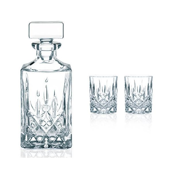 Nachtmann Noblesse 3 Piece Whiskey Set