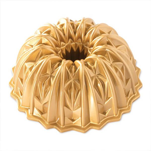 Nordic Ware Crystal Bundt Pan Gold