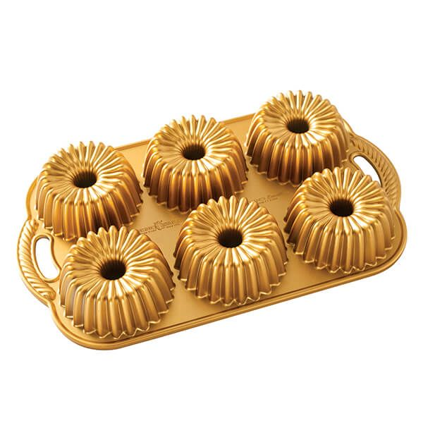 Nordic Ware Gold Brilliance Bundtlette Pan