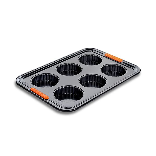 Le Creuset Bakeware 6 Cup Tart Tray
