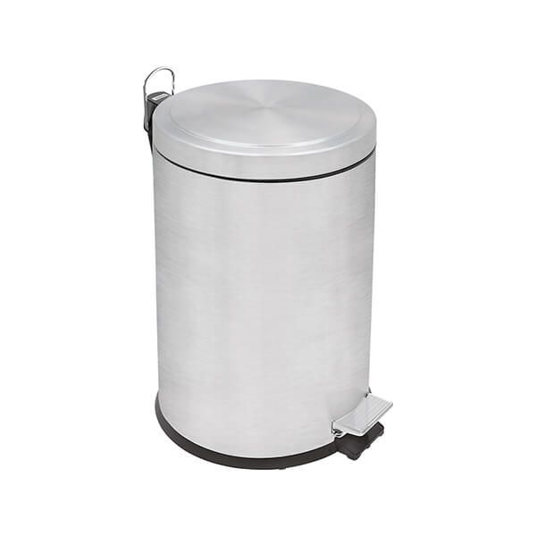 Tramontina Brushed Stainless Steel Pedal Bin 5L