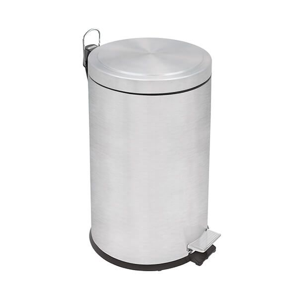 Tramontina Brushed Stainless Steel Pedal Bin 12L
