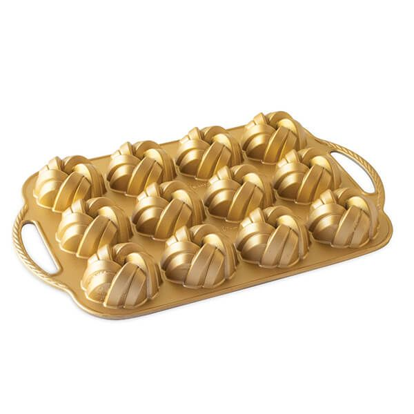Nordic Ware Braided Bundtlette Pan