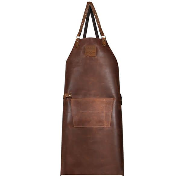 Boska Mr. Smith Cross Body Leather Culinary Apron Brown