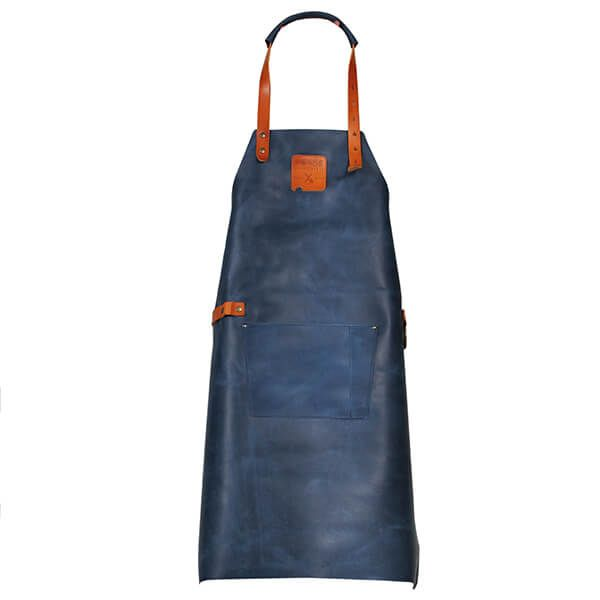 Boska Mr. Smith Leather Culinary Apron Blue