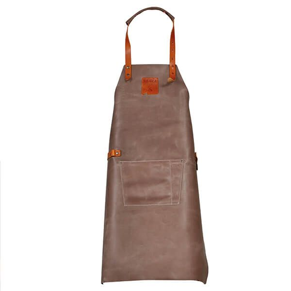Boska Mr. Smith Leather Culinary Apron Grey