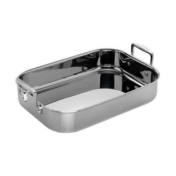 Le Creuset 3-ply Stainless Steel 35cm Rectangular Roaster