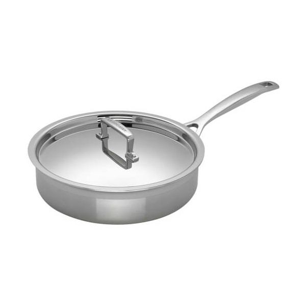 Le Creuset 3-ply Stainless Steel 24cm Saute Pan