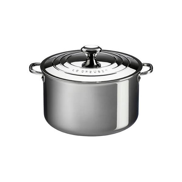 Le Creuset Signature 3-Ply Stainless Steel 20cm Deep Casserole