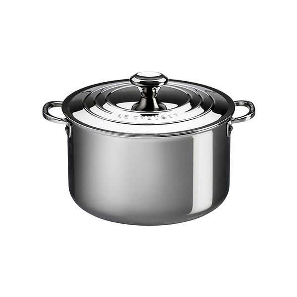 Le Creuset Signature 3-Ply Stainless Steel Stockpot 26cm