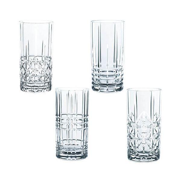 Nachtmann Highland Long Drink Glass Set Of 4