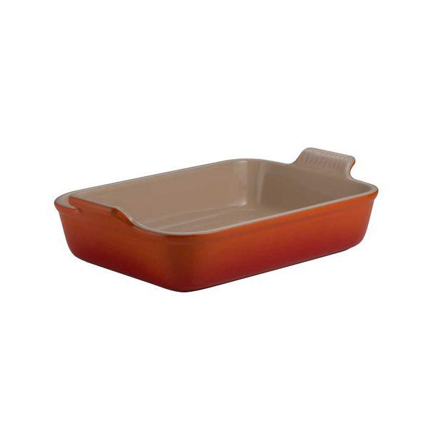 Le Creuset Volcanic Stoneware 19cm Deep Rectangular Dish