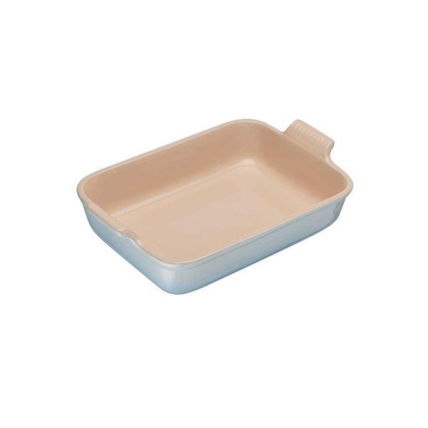 Le Creuset Coastal Blue Stoneware 19cm Deep Rectangular Dish