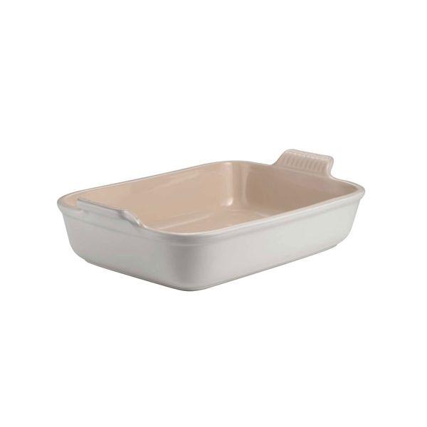 Le Creuset Cotton Stoneware 19cm Deep Rectangular Dish