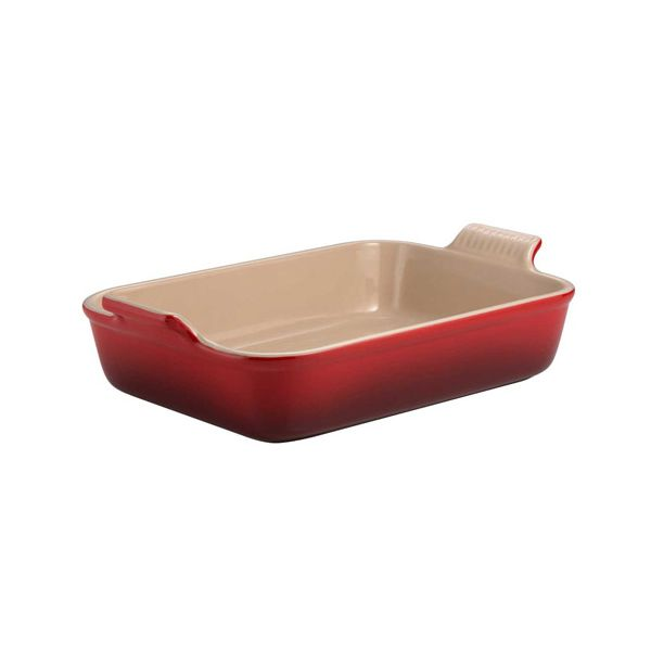 Le Creuset Cerise Stoneware 32cm Deep Rectangular Dish