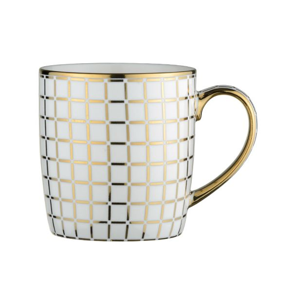 BIA Lattice Mug Gold